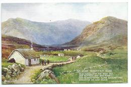 An Irish Mountain Road - Verse Eva Brennan - Artist Brian Gerald - Art Colour 587 - Künstlerkarten