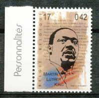 D - [154136]TB//**/Mnh-BELGIQUE 1999 - N° 2863, Bdf Avec Inscriptions Marginales, Martin Luther King, Célébrité, Paix. - Belgio