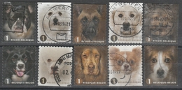 4383/4392 Chiens/Honden Oblit/gestp - Belgio