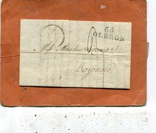 LETTRE D OLORON - Storia Postale
