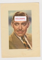 """AFBEELDING CLARK GABLE VEDETTE M.G.M. VAN DE FILM """"DE SLEUTEL ONDER DE DEUR"""" KWATTA EDITIE - Merchandising"""