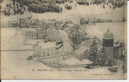 Mijoux (Ain) - Sous La Neige (Altitude 1000 M) - Frankreich