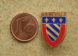 1 Insigne Blason Ancien En Métal Ville ABBEVILLE - Andere Verzamelingen