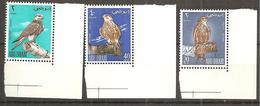 ABU DABI1965:    BIRDS   Michel12-14mnh**80Euros($ 90) Margin Copies - Aigles & Rapaces Diurnes