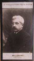 Alexandre Millerand  Né à Versailles - Président De La République - 2ème Collection Photo Felix POTIN 1908 - Félix Potin