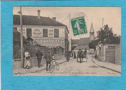 Thomery. - Rue Du Quatre-Septambre, Le Restaurant-Hôtel De La Bonne Treille. - Autres Communes