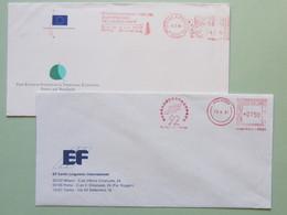 Europeistici, Commissione Europea, Lingue X L'Europa, Ema, Meter, Affrancatura Meccanica, Freistempel - Idee Europee