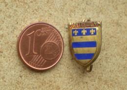 1 Insigne Blason Ancien En Métal Ville MONTREUIL S/M - Andere Verzamelingen