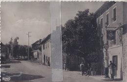 CPSM SAINT-HOSTIEN ROUTE NATIONAL D'YSSINGEAUX AUBERGE DU MEYGAL - Francia