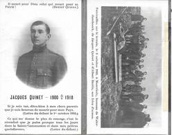 Quinet Jacques (gesneuveld Mons 1900 -moorslede 1918) - Godsdienst & Esoterisme