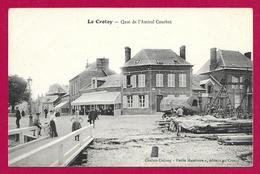 CPA Le Crotoy - Quai De L'Amiral Courbet - Le Crotoy
