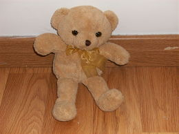 MAGNIFIQUE OURSON HOCHET PELUCHE - Teddybären