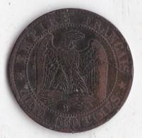 5 Centimes Napoleon III 1855 W  Ancre - C. 5 Centesimi