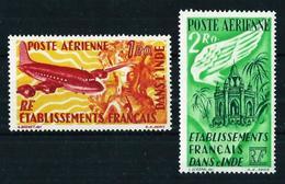 India (Francesa) Nº A-18/19 Nuevo* - Indië (1892-1954)