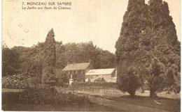 MONCEAU-SUR-SAMBRE   Le Jardin Aux Fleurs Du Château. - Charleroi