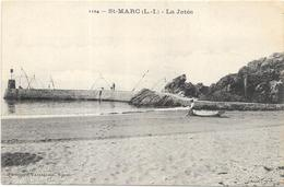 SAINT MARC SUR MER : LA JETEE - France