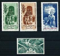India (Francesa) Nº A-7/8-9-10 Nuevo**/* - Indië (1892-1954)