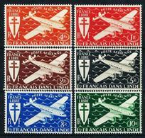 India (Francesa) Nº A-1/6 Nuevo* - Indië (1892-1954)