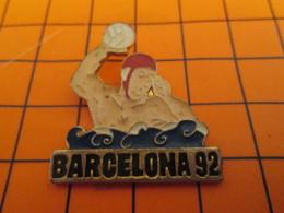 420 Pin's Pins / Beau Et Rare  / THEME JEUX OLYMPIQUES : BARCELONA 1992 WATER-POLO Tous Les Chevaux Se Sont Noyés ! - Olympische Spiele