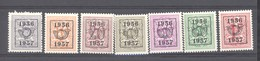 Belgique  -  Préos  :   COB  659-65  ** - Typo Precancels 1951-80 (Figure On Lion)