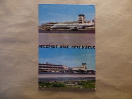 AEROPORT / AIRPORT / FLUGHAFEN   NICE COTE D AZUR   DC 8 PAN AM  CONSTELLATION AIR FRANCE - Aerodromi