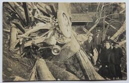 Rare Carte Photo Pont Du Gotteron Fribourg Suisse Catastrophe Du 9 Mai 1919 Auto-camion Accident Pont Détruit - FR Fribourg