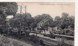 """SAINT AMOUR """"La Gare ,les Quais"""" - Autres Communes"""