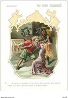 Chromos. N° 34143 . Barbe Bleue. N° 6 .au Bon Marché.publicité. 16  X 11.5 Cm - Au Bon Marché