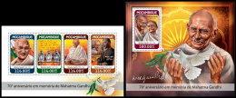MOZAMBIQUE 2018 MNH** Mahatma Gandhi M/S+S/S - OFFICIAL ISSUE - DH1827 - Mahatma Gandhi