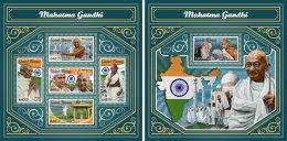 GUINEA BISSAU 2017 MNH** Mahatma Gandhi M/S+S/S - OFFICIAL ISSUE - DH1749 - Mahatma Gandhi