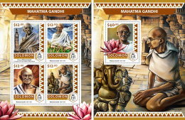 SOLOMON ISLANDS 2016 ** Mahatma Gandhi M/S+S/S - OFFICIAL ISSUE - A1706 - Mahatma Gandhi