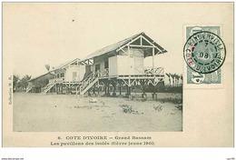 COTE D'IVOIRE.n°31146.GRAND BASSAM.LES PAVILLONS DES ISOLES.FIEVRE JAUNE 1901 - Ivory Coast