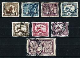 Indochina (Francesa) Nº Servicio-1-4/5-7/9-11-14º - Indochina (1889-1945)