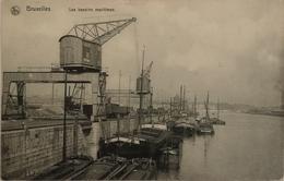 Bruxelles // Les Bassins Maritime 1919 - Maritiem