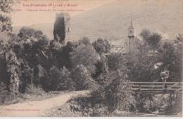 Bx - Cpa Vallée D'Aure - Vieille Tour Et Clocher D'Héchettes - Francia