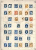 Seine Et Oise Très Belle Collection De 106 Pc Et 135 GC (dont 1 Remp.AL) Cote Pothion (s.lettre) 12310+2300 = 14610 Eu - 1849-1876: Période Classique