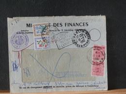 A11/876AC LETTRE FRANCE POUR LE   MAROC  1966 DOUBLE TAXE - Morocco (1956-...)