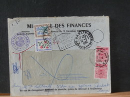 A11/876AC LETTRE FRANCE POUR LE   MAROC  1966 DOUBLE TAXE - Marokko (1956-...)