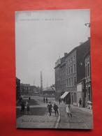 Châtelineau Vers 1910 Rue De La Station / Edit. Joseph Wayens, Café Des Ouvfiers / Animée - Châtelet