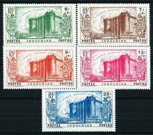 Indochina (Francesa) Nº 209/13 Nuevo(*) - Unused Stamps