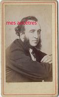CDV Beau Portrait De Jules Ferry - Antiche (ante 1900)