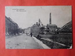 Châtelineau Vers 1910 Rue Gendebien / Charbonnage - Châtelet