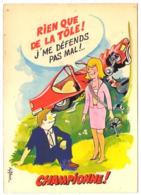 GF (Illustrateurs) 535, R Allouin, Combier, Au Volant, 3 AV 77 0019 - Otros Ilustradores
