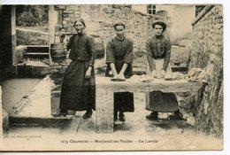 2007. CPA 16 NANTEUIL EN VALLEE. UN LAVOIR - Autres Communes
