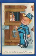 ILLUSTRATEUR GOUGEON -    Gardien De Prison   Série:Photochinon 1409 - Gougeon