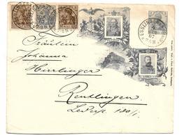 WÜRTTEMBERG XX001 / 1906, Jubiläum -Königshaus Von Esslingen Nach Reutlingen - Wuerttemberg
