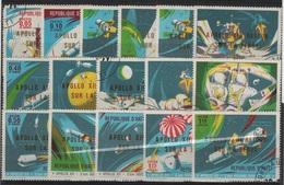 AST 188 - HAÏTI Série De 16 Val. Obl. Conquête De L'espace - Haïti