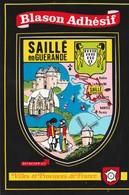 CPSM  44 SAILLE EN GUERANDE BLASON ADHESIF - Francia