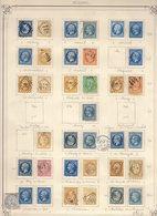 SEINE Très Belle Collection : Tous Les 73 GC Et 62 Pc Cote Pothion (s. Lettre) 6620 Eu Nombr. T. Couleurs - 1849-1876: Période Classique