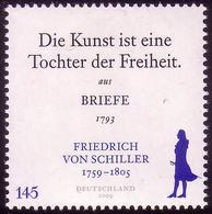 2765 Friedrich Von Schiller ** - [7] Repubblica Federale
